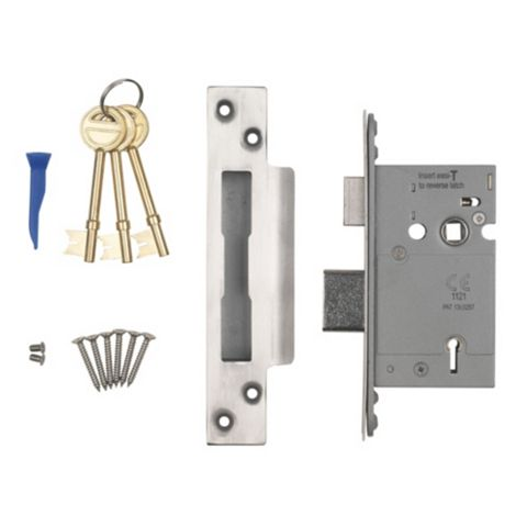 Smith & Locke 64mm 5 Lever Mortice Sashlock