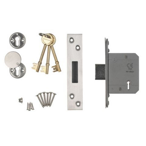 Smith & Locke 64mm 5 Lever Mortice Deadlock