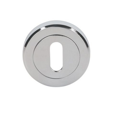 Smith & Locke Polished Chrome Escutcheon