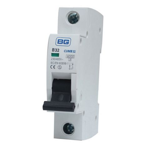 British General 32A MCB (Miniature Circuit Breaker)