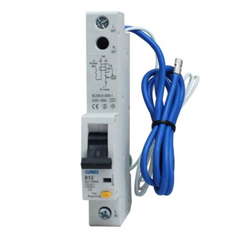 British General 32A Single Pole RCBO