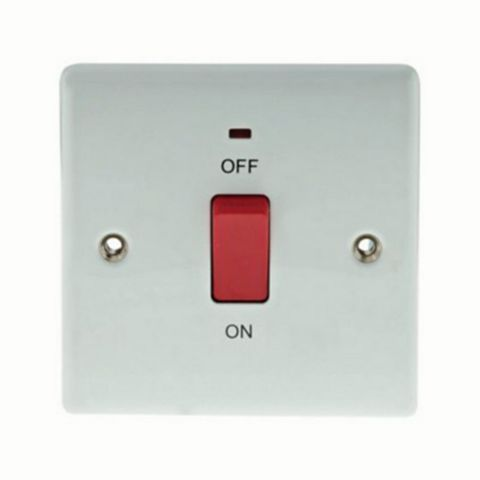 2 45A Cooker Switch
