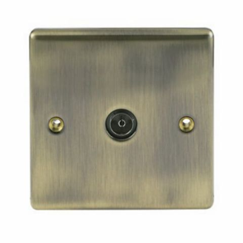 British General Low Profile Coaxial Socket