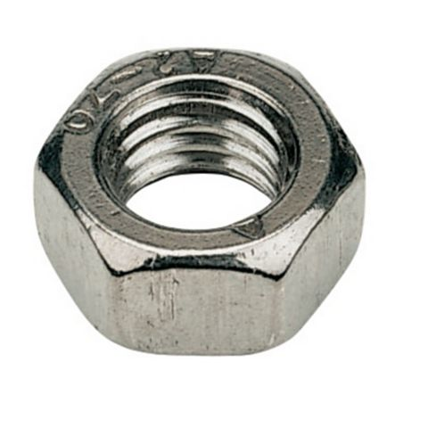 M6 A2 Stainless Steel Hex Nuts, Pack of 100
