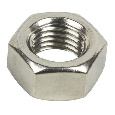 M20 A2 Stainless Steel Hex Nut, Pack of 10