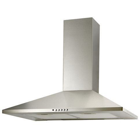 Cooke & Lewis CLCH90SS-C Chimney Cooker Hood, Stainless Steel