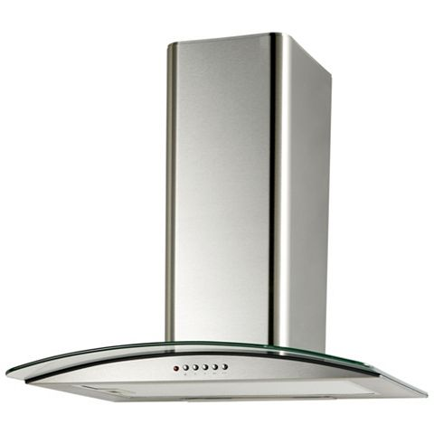Cooke & Lewis CLGCH60-C Cooker Hood, Stainless Steel