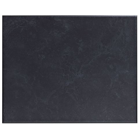 Helena Black Ceramic Wall Tile, Pack of 20, (L)250mm (W)200mm
