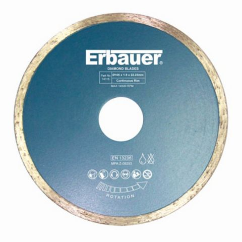 Erbauer (Dia)105MM Diamond Tile Blade