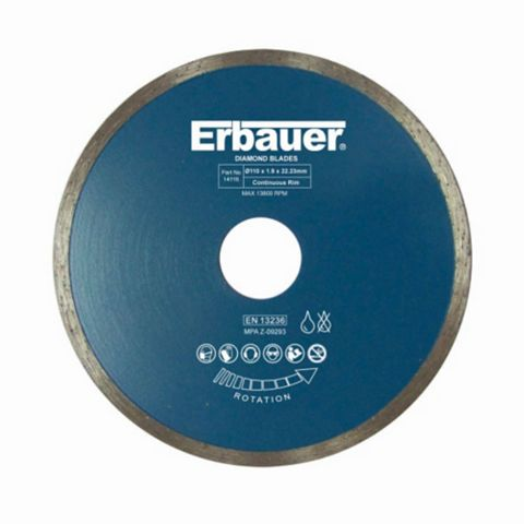 Erbauer (Dia)110MM Diamond Tile Blade
