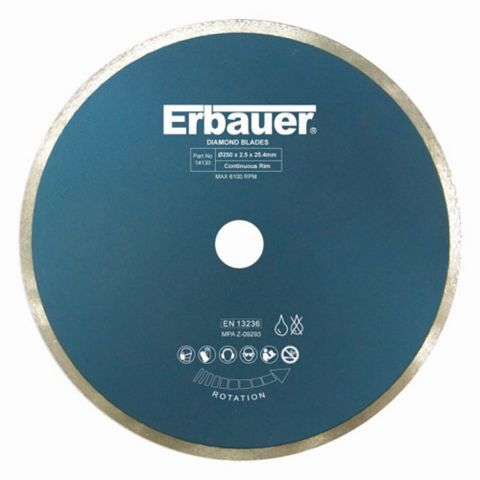 Erbauer (Dia)250MM Diamond Tile Blade