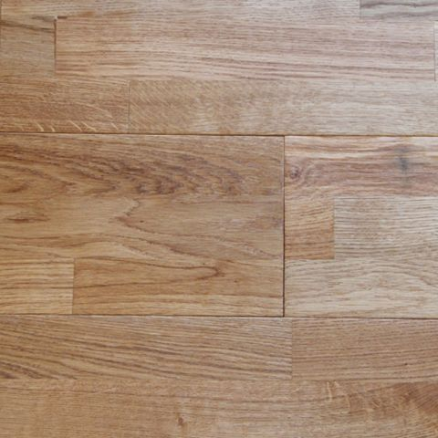 Colours Barcarolle Natural 3 Strip Solid Oak Flooring 1.26 m² Pack