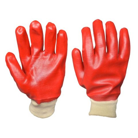 Diall 60% PVC, 40% Cotton Close-Fitting Heavy Duty Gloves, Pair