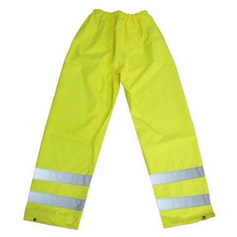 Diall Tradesman Yellow Waterproof Trousers W26