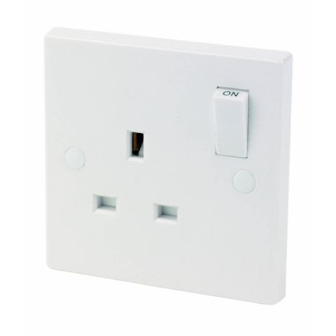 13A 1-Gang Switched Socket