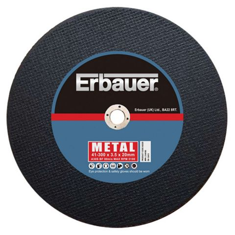 Erbauer (Dia)300mm Cutting Discs, Pack of 3
