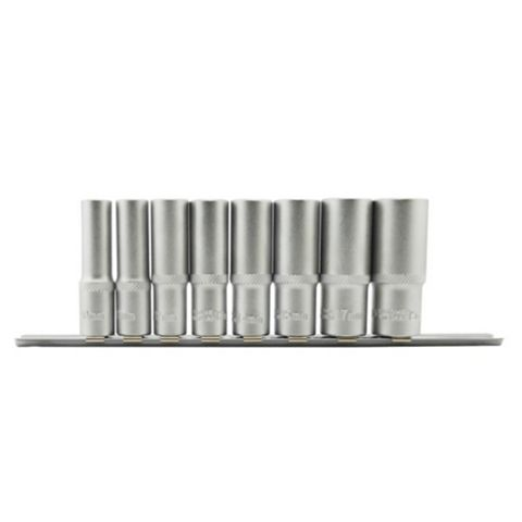 Mac Allister Deep Socket Set, 8 Pieces