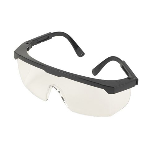 Black Impact Wrap-Around Safety Spectacles
