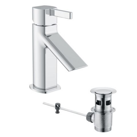 Cooke & Lewis Airlie 1 Lever Basin Mixer Tap