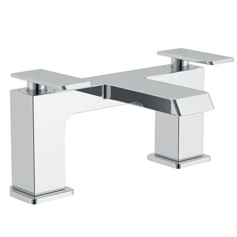 Cooke & Lewis Harlyn Chrome Bath Mixer Tap