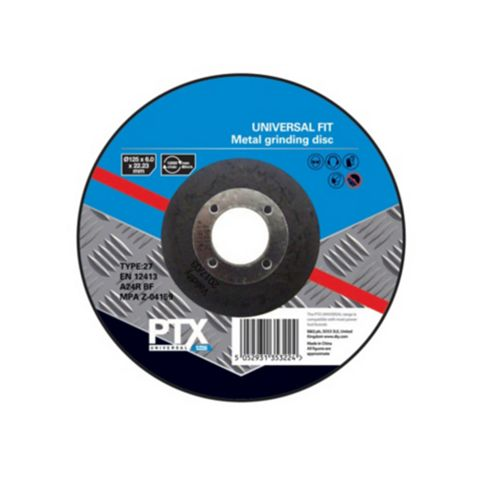 PTX (Dia)125mm Metal Grinding Disc