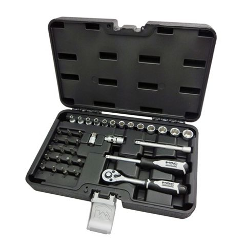 Mac Allister Mixed Socket Set, 35 Pieces