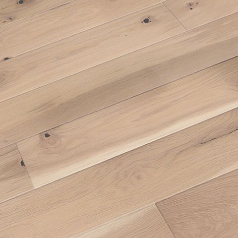 Colours Bredene Cream Oak & Coniferous Wood Real Wood Top Layer Flooring 1.37m² Pack