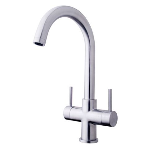 Cooke & Lewis Zale Stainless Steel Monobloc Tap