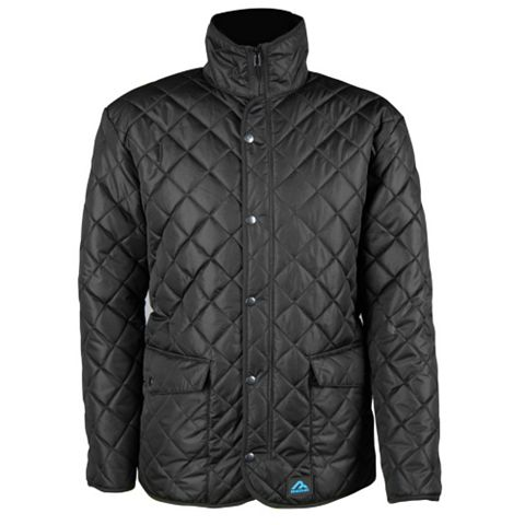 Rigour Seattle Black Quilted Jacket XL