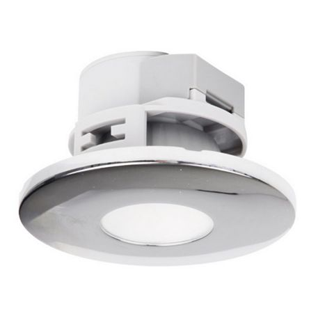 Chrome Effect Downlight 5 W, Pack of 3