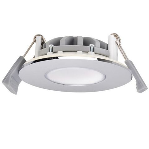 Chrome Effect LED Fixed Downlight 5 W