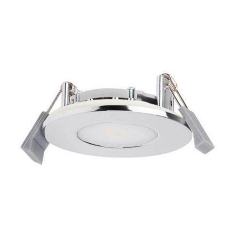 Diall Chrome Effect Downlight 7.5 W, Pack of 3