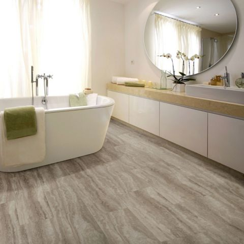 Sand Effect Waterproof Luxury Vinyl Click Flooring Pack 2.22m²