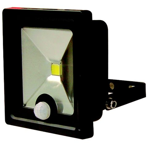 Lap 10W Slimline Floodlight with PIR