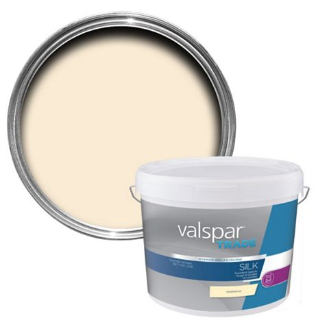Valspar Trade Magnolia Silk Paint 10L