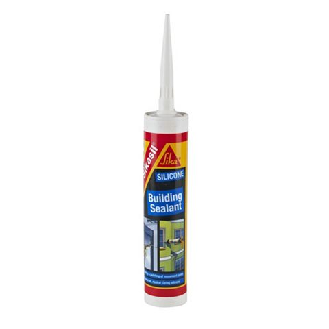 Sikasil Multi-Purpose White Building Sealant 300 ml