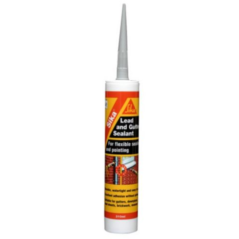 Sika Sealant Lead Grey Roof & Gutter Sealant 300 ml