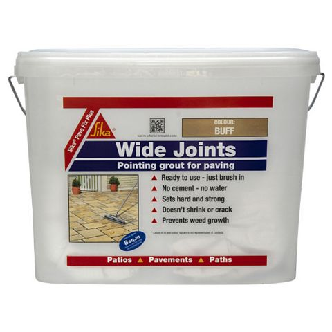 Sika Ready to Use Pave Fix Plus Grout Buff 10 kg Plastic Tub