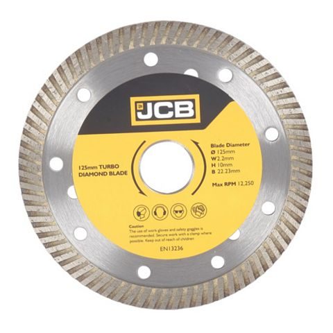 JCB (Dia)115mm Continuous Rim Diamond Blade