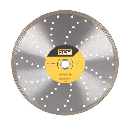 JCB Turbo (Dia)300mm Continuous Rim Diamond Blade