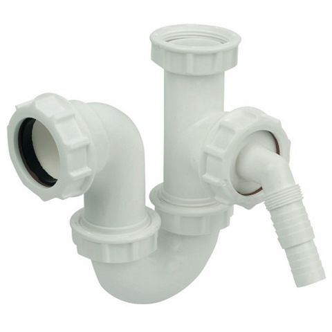 Floplast Compression Sink & Washing Machine Trap