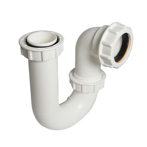 Floplast Tubular Swivel Waste P Trap (Dia)40mm