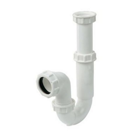 Floplast Polypropylene Telescopic P Trap
