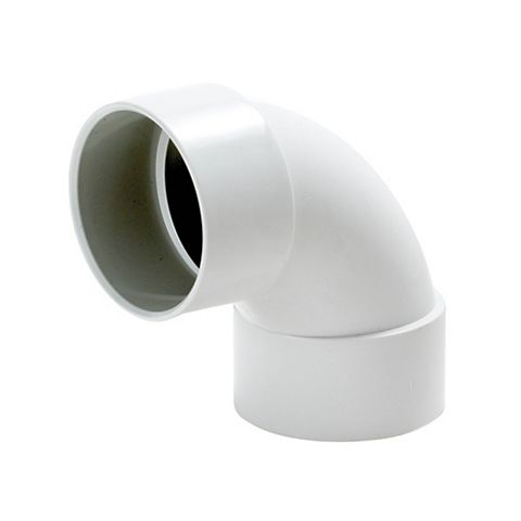 Floplast 87.5 Degree Solvent Waste Bend 40mm