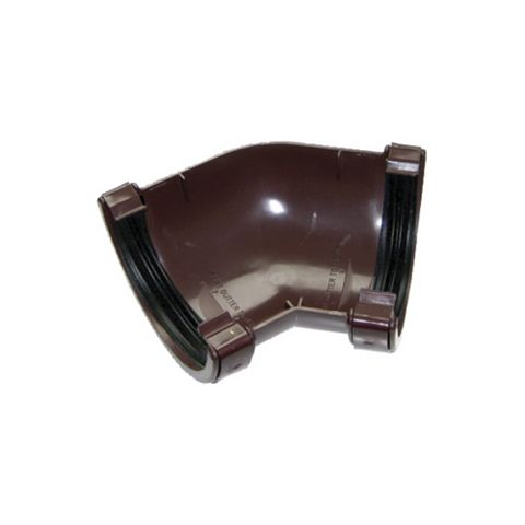 Floplast Half Round 135 ° Gutter Angle (Dia)112mm, Brown