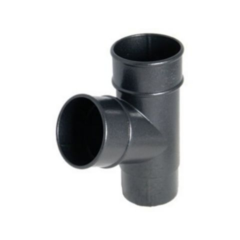 Floplast Push Fit (Dia)68mm Waste Downpipe Branch (L)77mm