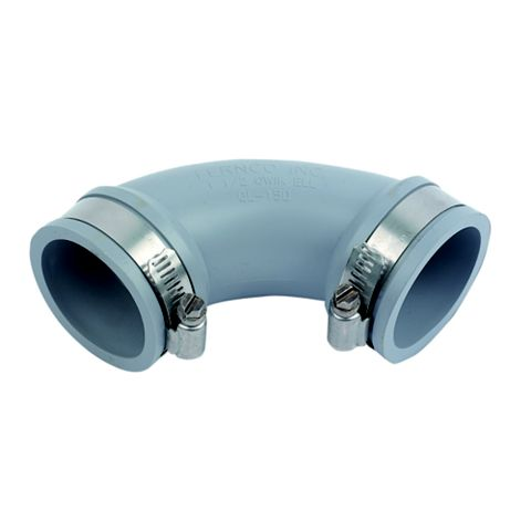 Floplast Flexi Waste Elbow (Dia)40-48 mm