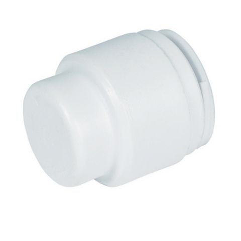 Stop Ends (Dia)22 mm, Pack of 2