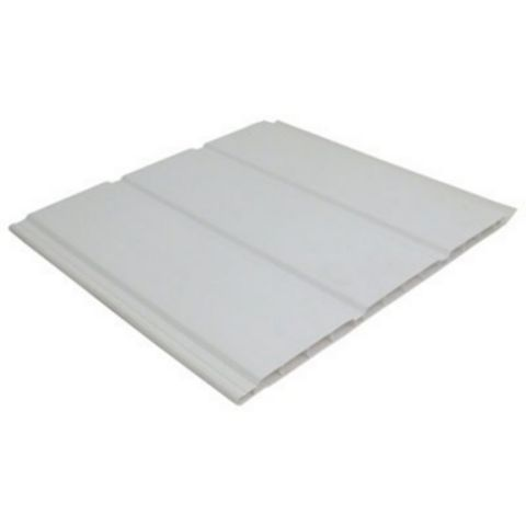 Floplast Hollow Soffit Board (L)4000 mm (W)300 mm (T)9 mm
