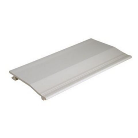 Floplast White Shiplap Cladding (L)3000 mm (W)150 mm (T)19 mm, Pack of 1
